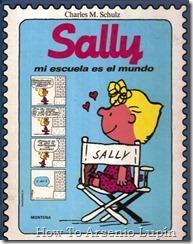 P00016 - Charles Schulz - Sally. Mi escuela es el mundo.howtoarsenio.blogspot.com