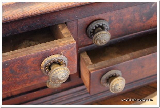antique portable desk
