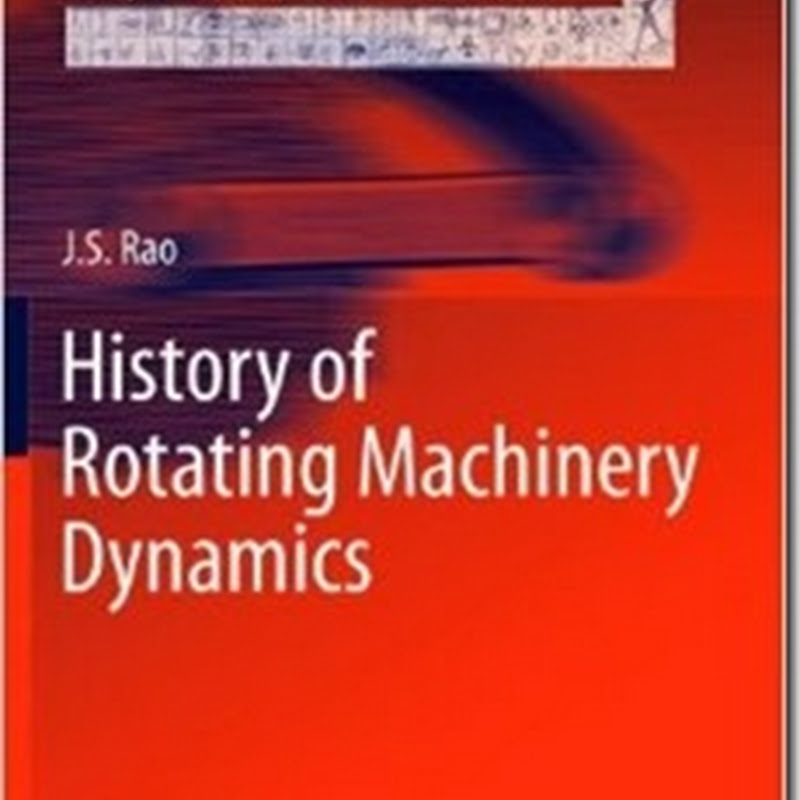 J. S. Rao - History of Rotating Machinery Dynamics