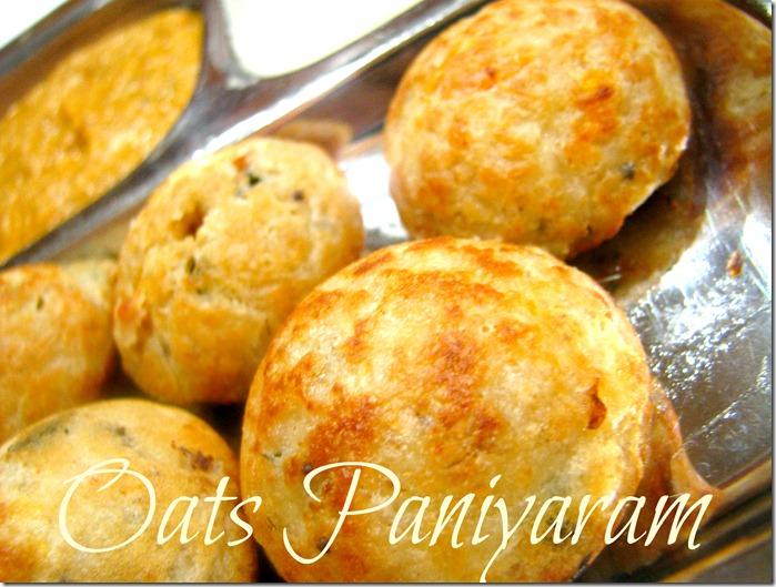 oatspaniyaram