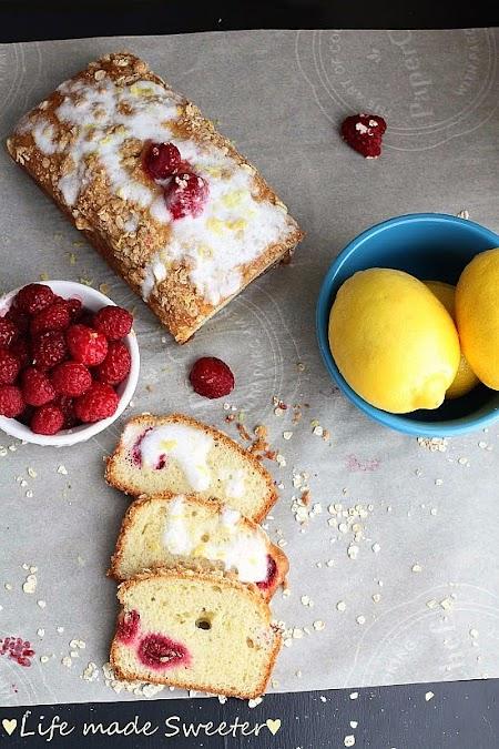 Raspberry Lemon Loaf Cake - Life made Sweeter 2.jpg