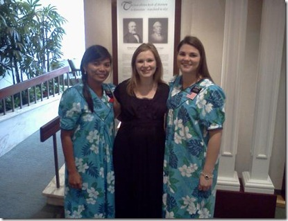 sister missionaries in hawaii visitors center