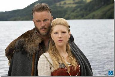 Ragnar e esposa