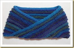Knitted Moebius Cowl