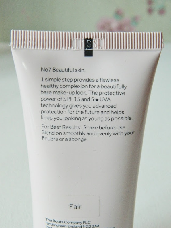 N07 Beautiful skin bb cream review