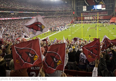'Too many Cardinal flags!' photo (c) 2009, Michael Wifall - license: http://creativecommons.org/licenses/by-sa/2.0/