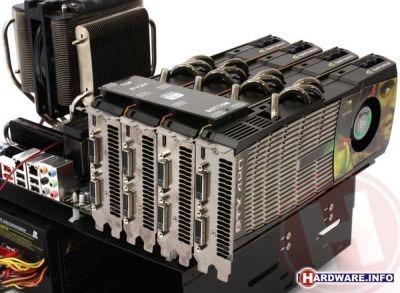 GTX 480 4 sli teste