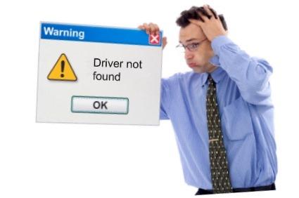 Driver não encontrado