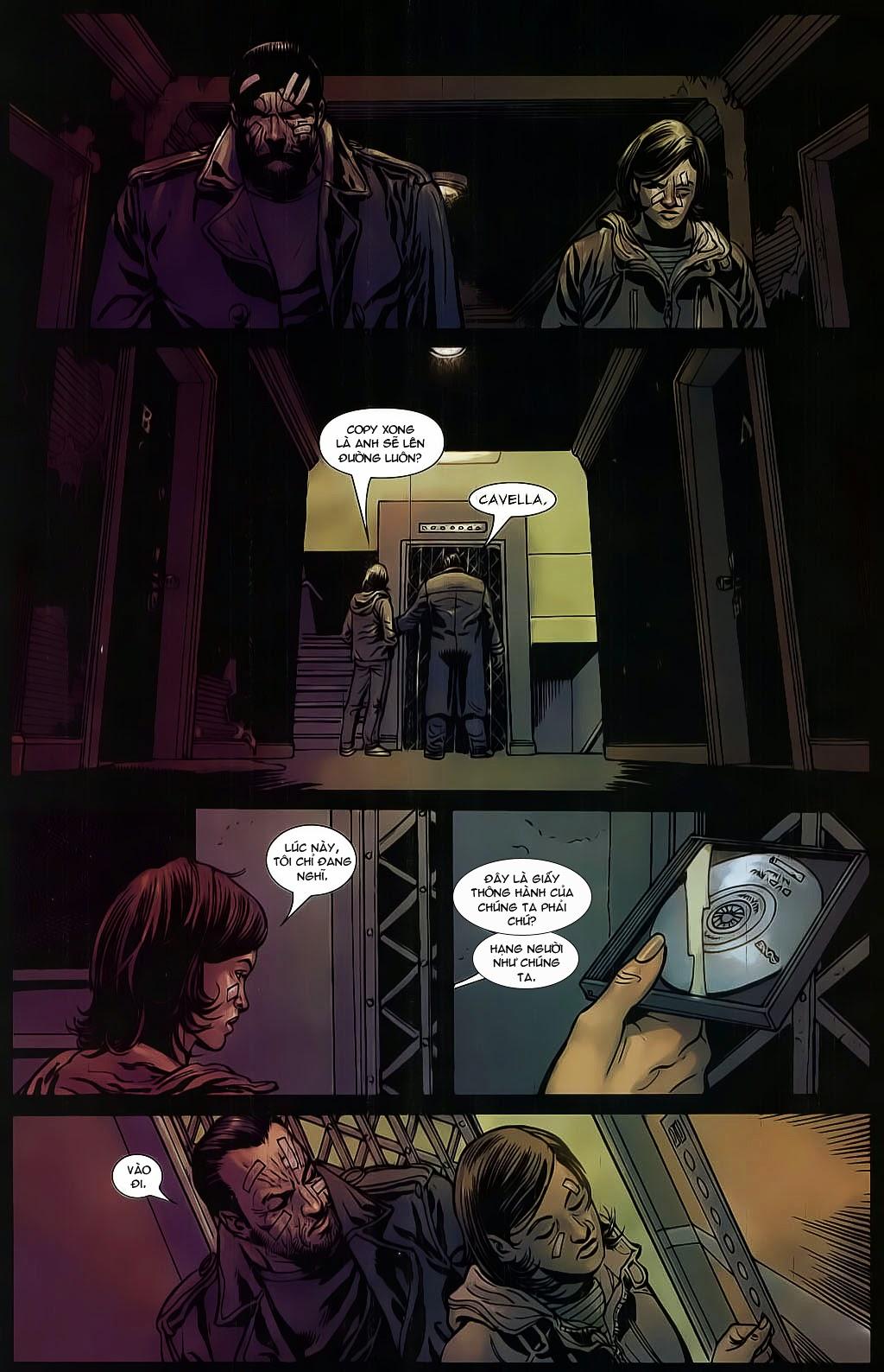 The Punisher: Trên là Dưới & Trắng là Đen chap 6 - Trang 14