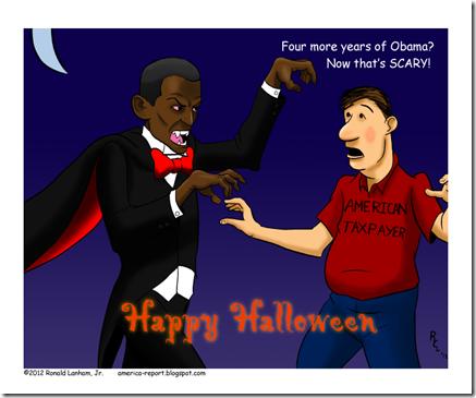 Obama Halloween 2012