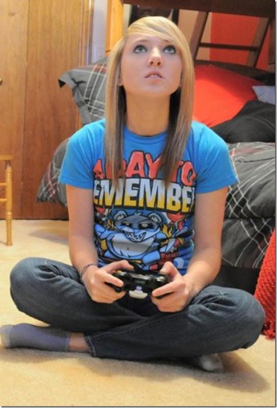Lindas garotas viciados em video games (25)