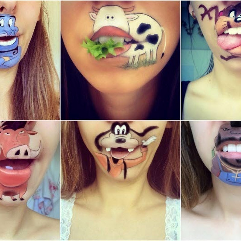Makeup Artist Laura Jenkinson's Creative Lip Art