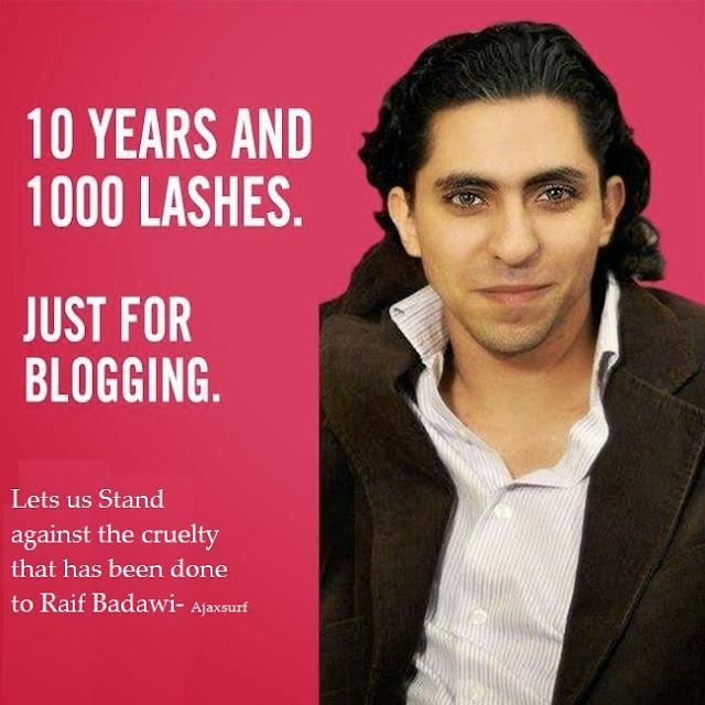 Raif Badawi  50 lashes