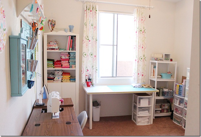 The Crafty Cupboard Sewing and Crafting Room