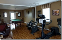 Lounge and exercise equipment at Cave Country RV CG