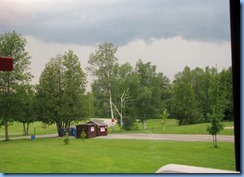 6262 Ottawa Greely Sleepy Cedars Campground - storm warnings