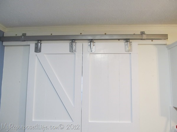 Repurposed projects best of 2012 my repurposed life - Exterior barn door hardware tractor supply ...