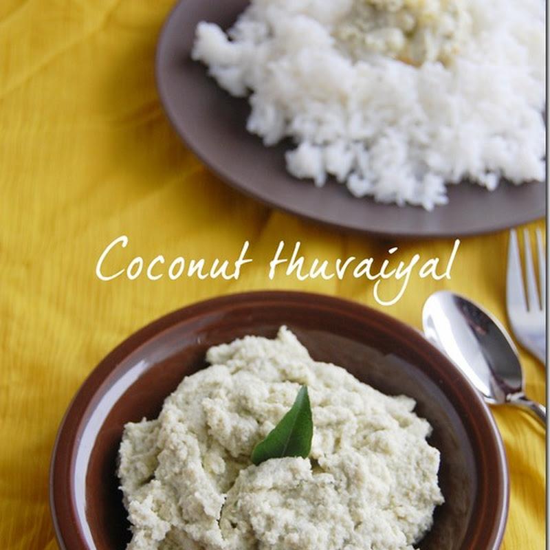 Coconut thuvaiyal