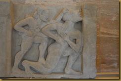 Hercules killing Giant Alcyoneus