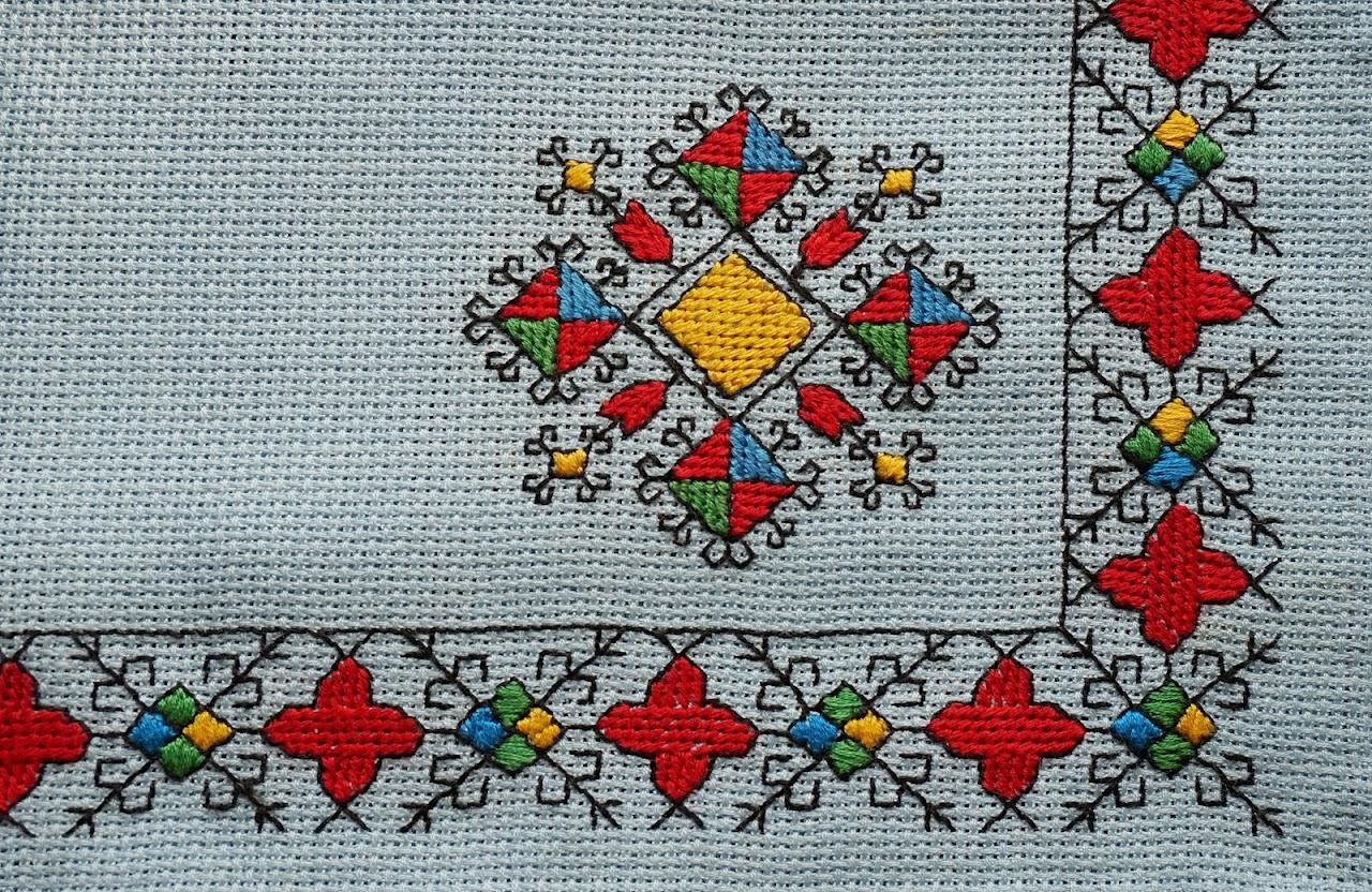 Вышивка орнаментов для детей