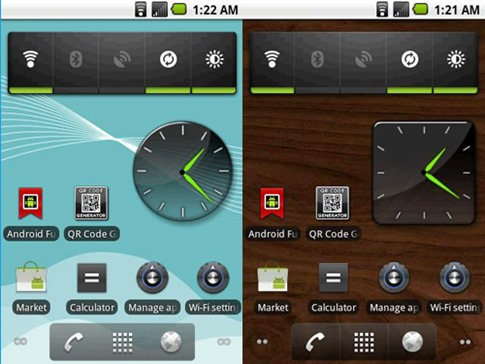 awesome-clock-widget