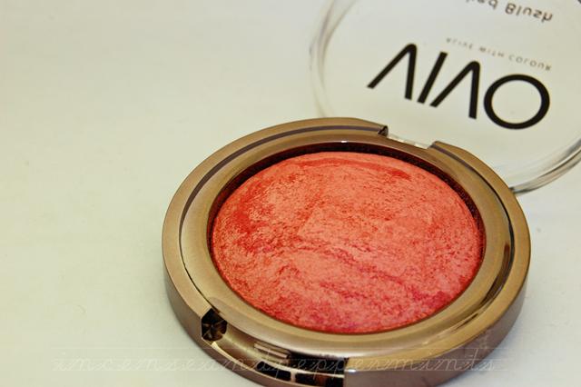 Vivo Cosmetics Baked Blush Rouge Shimmer