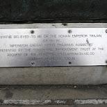 emperor trajan in London, London City of, United Kingdom