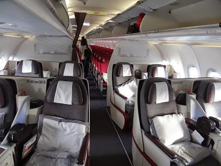 28. Business class - Airbus 320.JPG