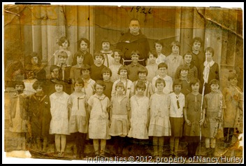 1926 Sacred Heart Catholic School third grade class.