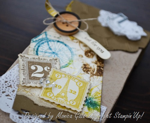 Stampin'Up!postage due box close up