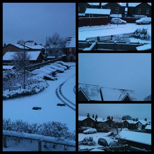 A Snow Tetraptych