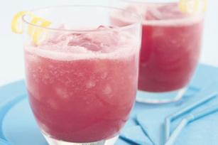 Limonade à la fraise!
