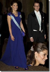 Crown Princess Victoria - King's Dinner