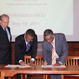 South Africa's Stellanbosch University, TMCF Sign Cooperation Agreement for Educational Exchange