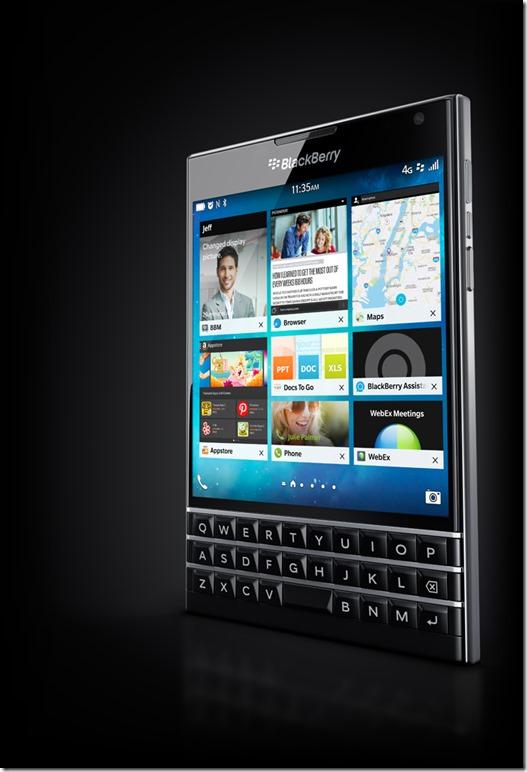 BlackBerry Passport release date