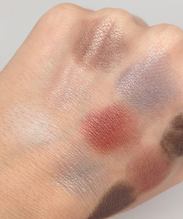 Serenity+Scott Smoky Eyeshadow Palette swatches