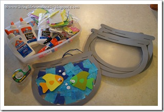 fish bowl craft for kids