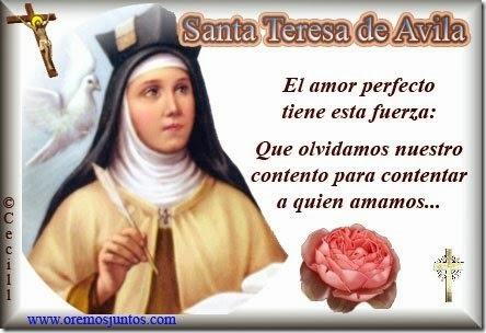 Santa Teresa de àvila