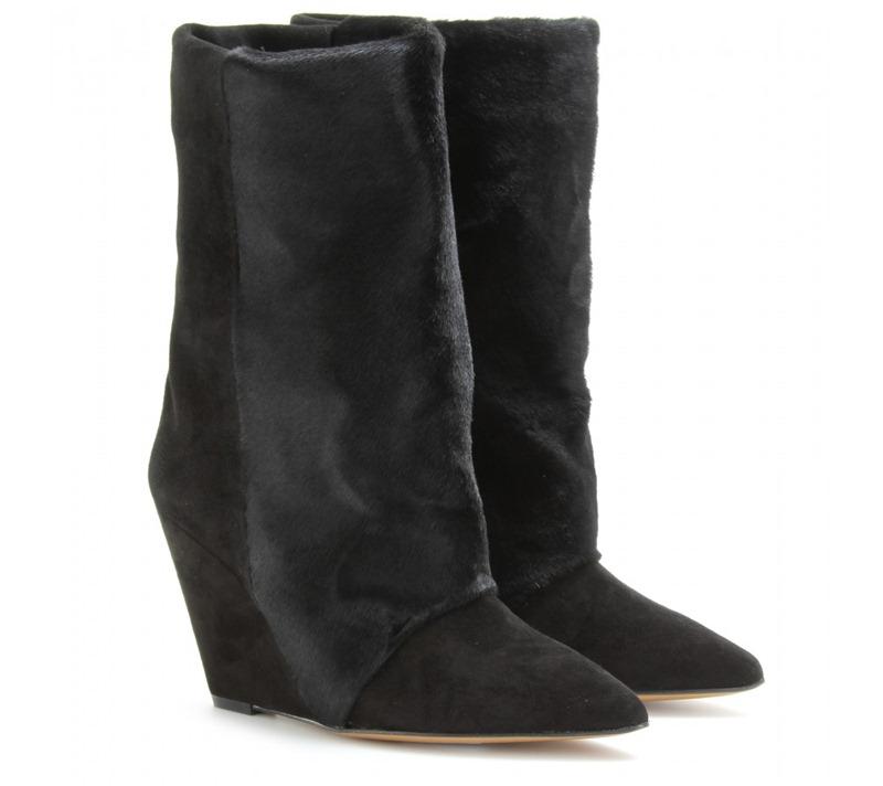 Isabel Marant, Isabel Marant Boots, isabel Marant Shoes, Lazio Boot, Lazio Pony Boots, Isabel Marant Lazio Boots