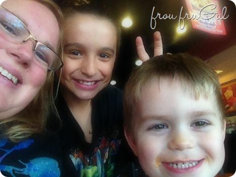 Suesan with Nephews Christian and Kingston