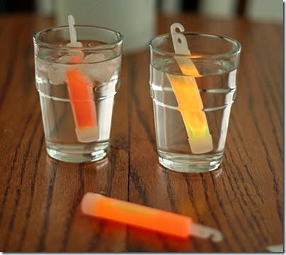 Glow Stick Experiment #scienceisfun #homeschool #educaiton #preschool