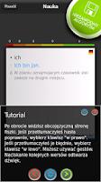 Screenshot of FISZKI Niemiecki Konwersacje