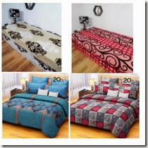 Pepperfry : Buy Bed Sheets from Rs. 163 only
