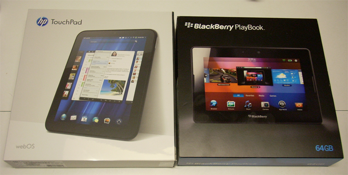 BlackBerry PlayBook Touchpad