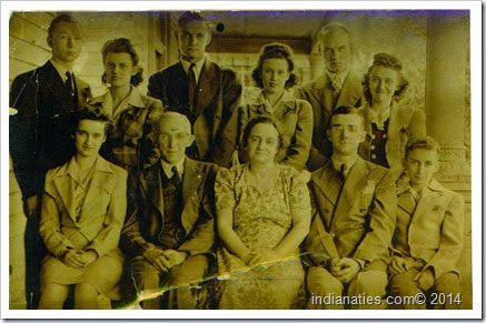 Family of Harry Lawrence and Otillia (Kuhn) Weber