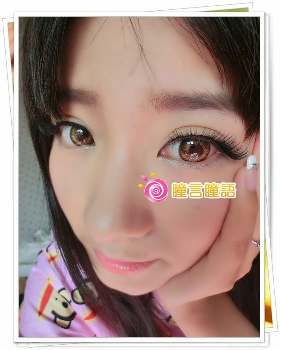日本KRIAKRIA隱形眼鏡-Gossip小惡魔金咖4