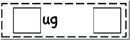 UG Word Family Making Word Center - Word Work