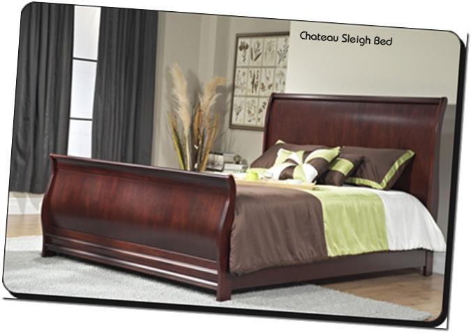 Modus Chateau Sleigh bed