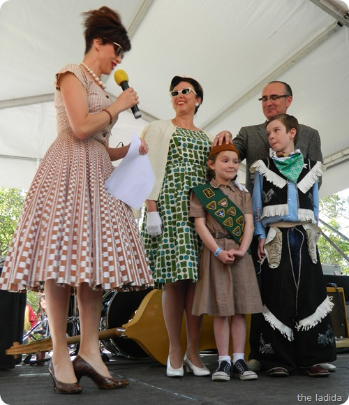 Fifties Fair Best Dressed Competition Winner