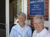 Sr. Rita and Sr. Julia Marie at Angela House